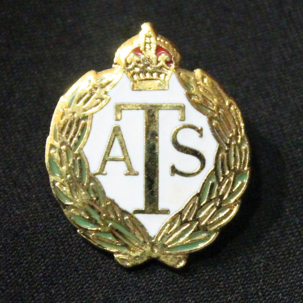 Auxiliary Territorial Service Lapel Badge