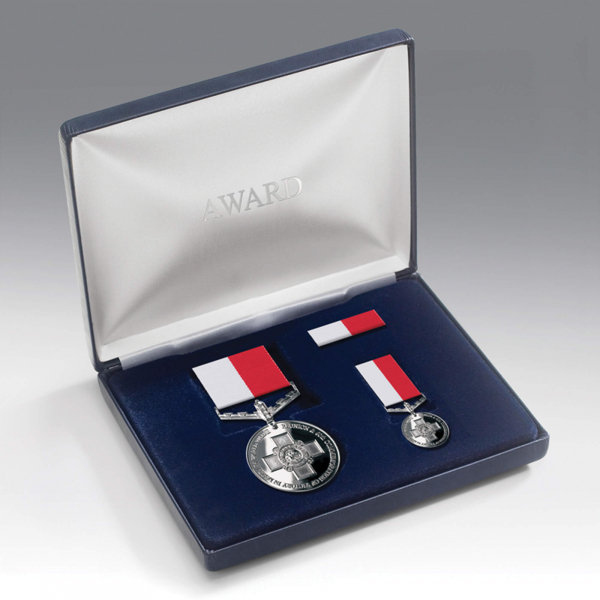 Battle For Malta Medal Presentation Set