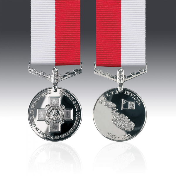 Miniature Battle for Malta Medal