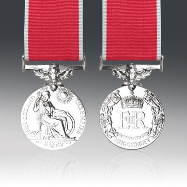 BEM EIIR Civilian Full Size Loose Medal