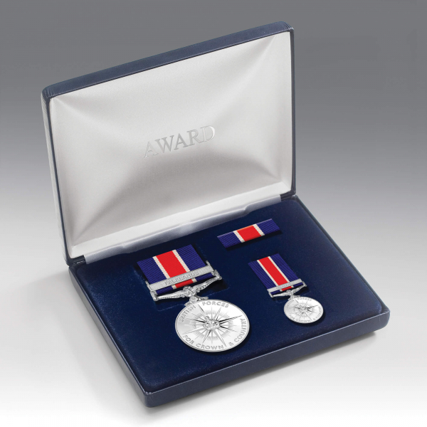 British Forces Campaign Medal Presentation Set