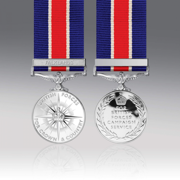 British Forces Campaign Miniature Medal