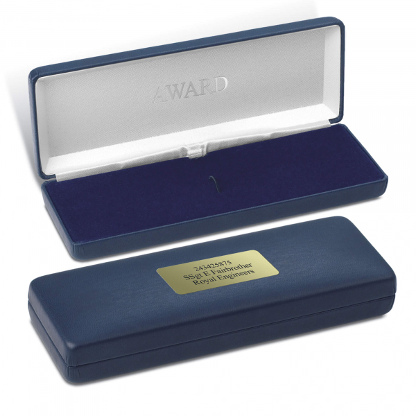 Personalised Commemorative Medal Case
