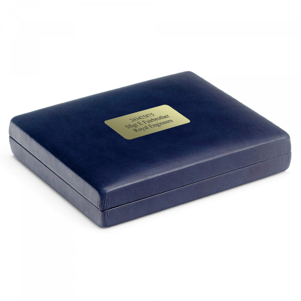 Personalised Blue Presentation Case
