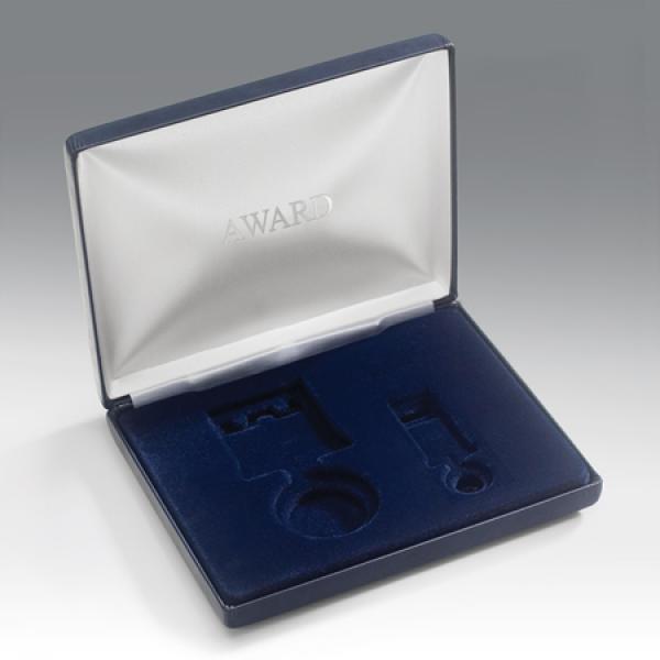 Blue Presentation Case
