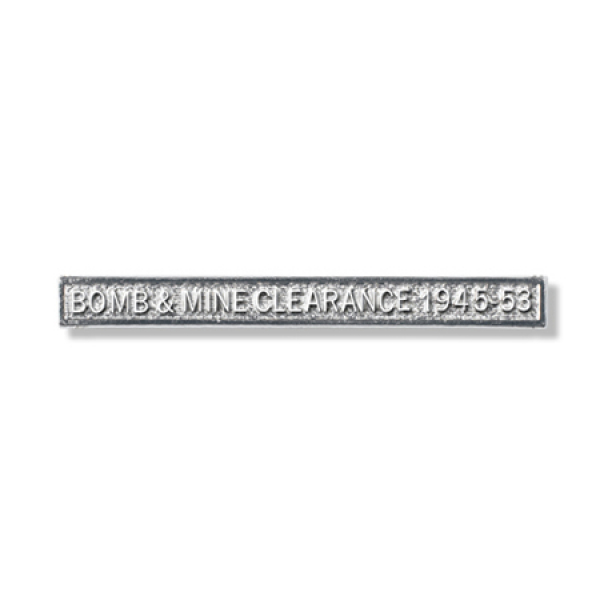 Bomb & Mine Clearance 1945-53 Clasp Full Size With Pin