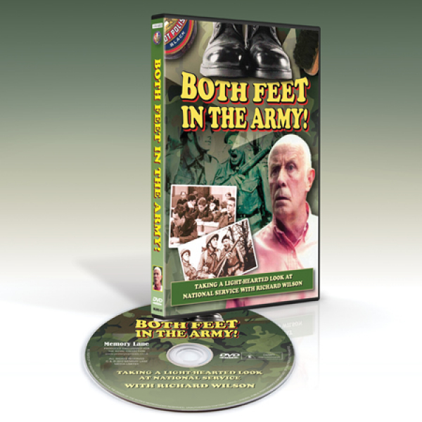 Both Feet in The Army [DVD]