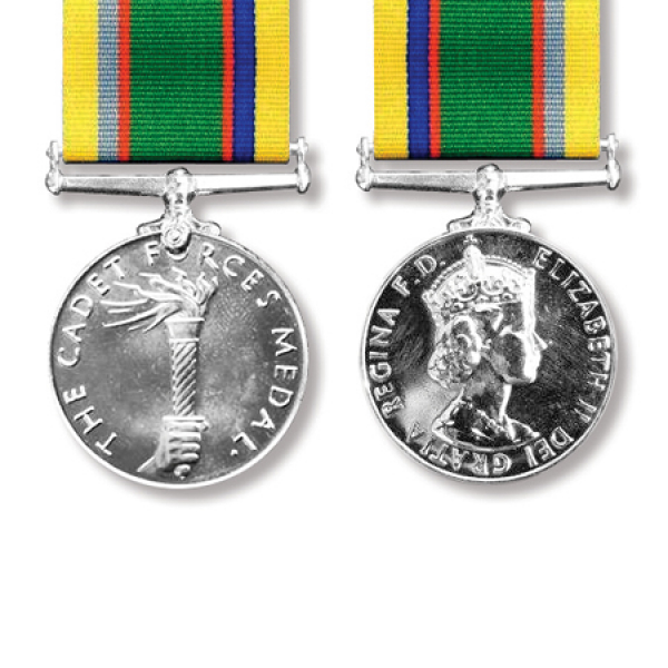Cadet Forces Long Service Miniature Medal