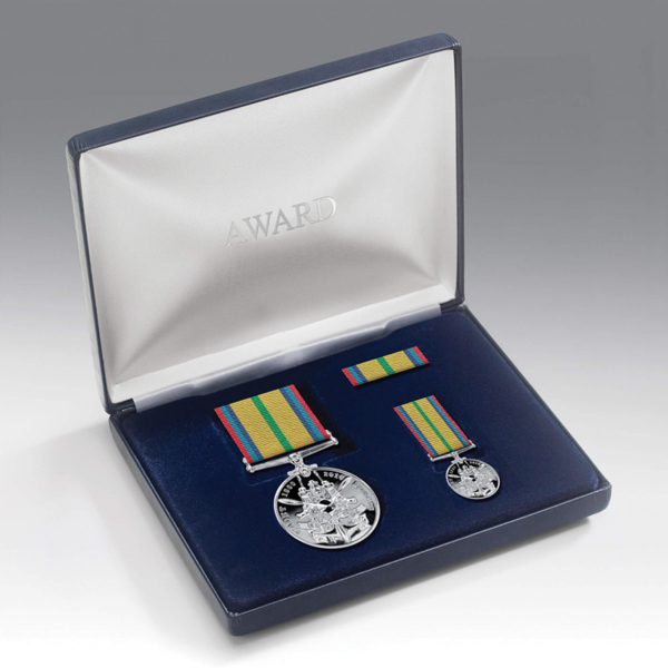 Cadet Forces Medal Presentation Set