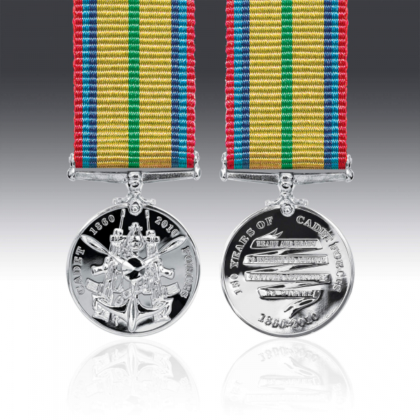 Cadet Forces Miniature Medal