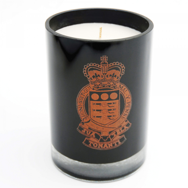 Candle With Personalised Holder