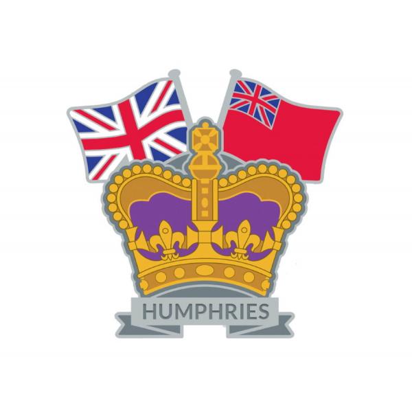 Crown & Country Lapel Badge Merchant Navy
