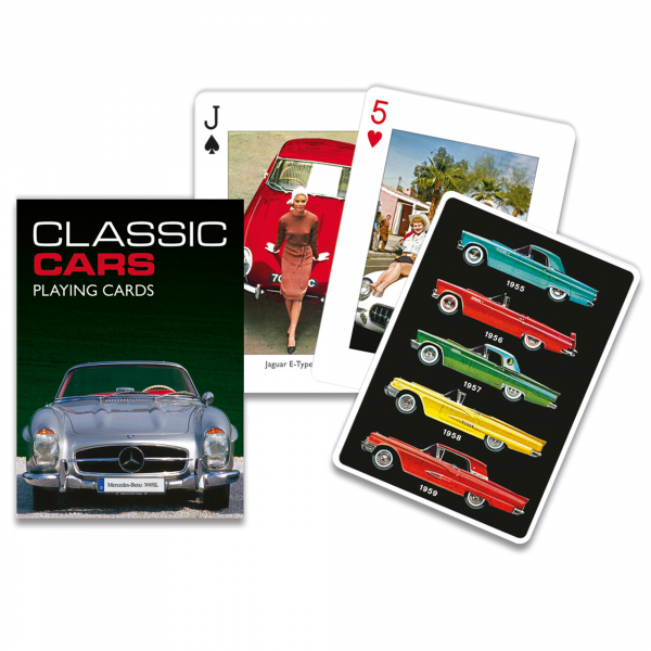 Classic Cars Cards Set