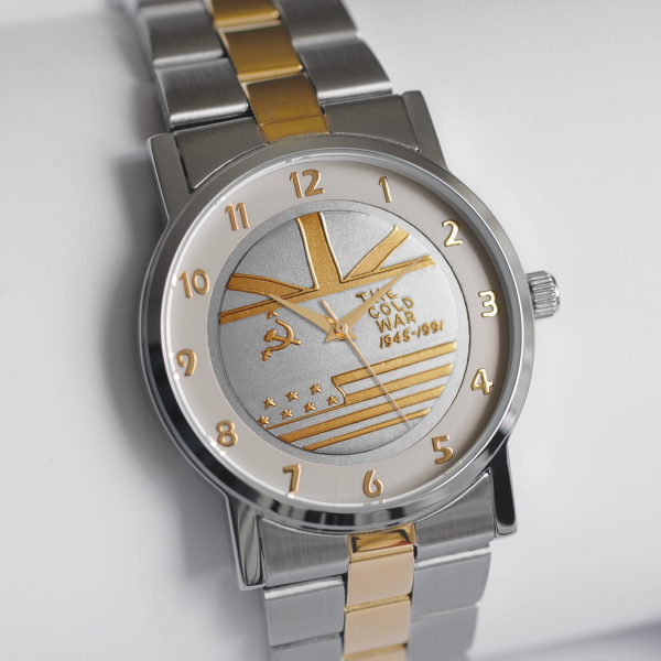 Medalwatch with Two-tone Bracelet & Dial