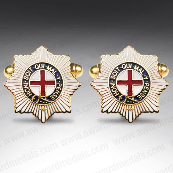 Coldstream Guards Shield Style Cufflinks