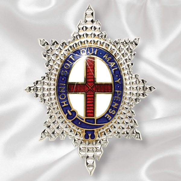 Coldstream Guards Sterling Silver Brooch
