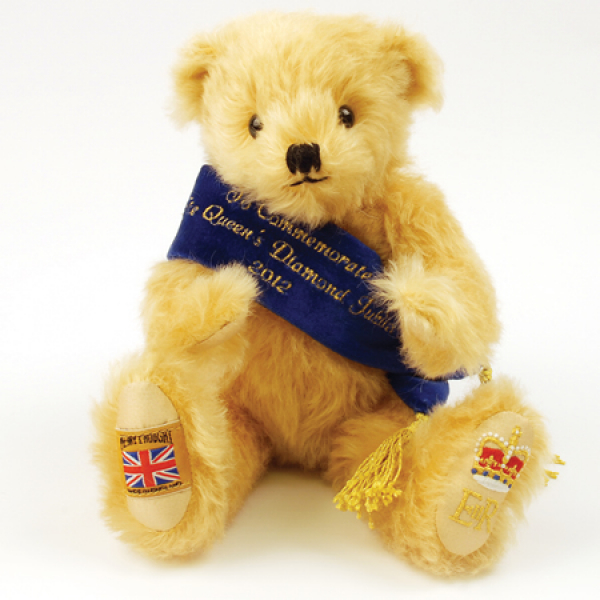 Diamond Jubilee Commemorative Teddy Bear