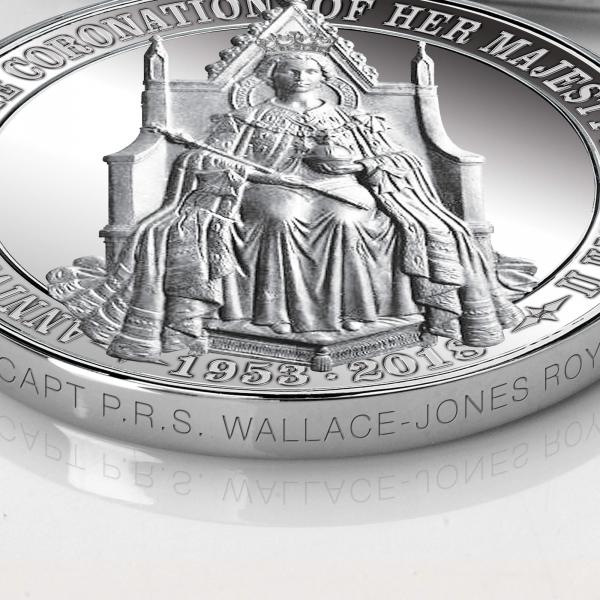Medal Edge Engraving