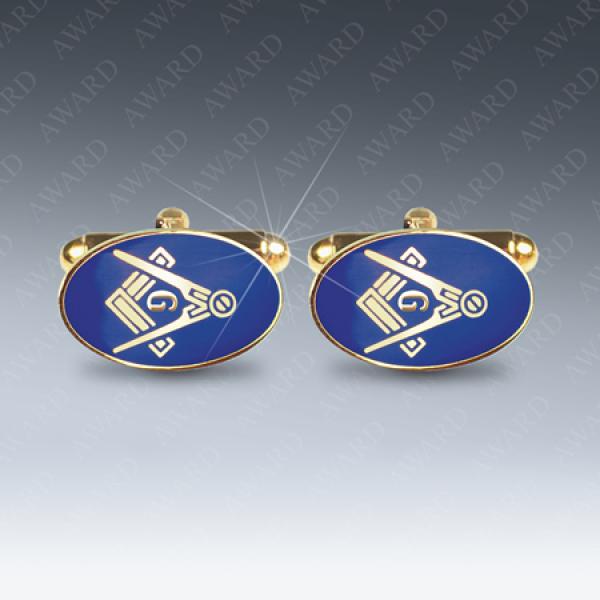Craft with G Masonic Cufflinks