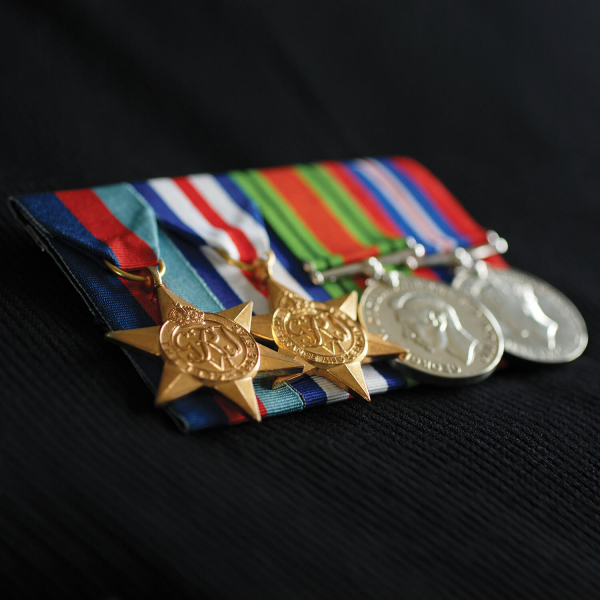 Court Medal Mounting Full Size 10