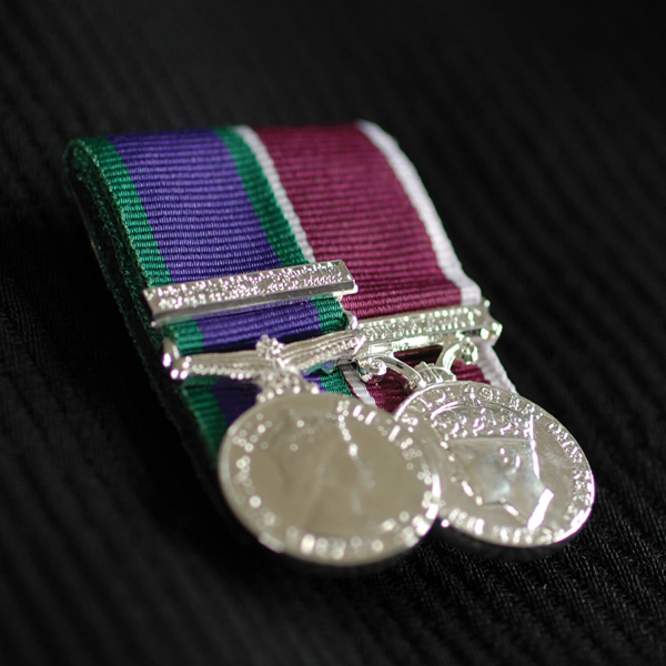 COURT MEDAL MOUNTING MINIATURES 10