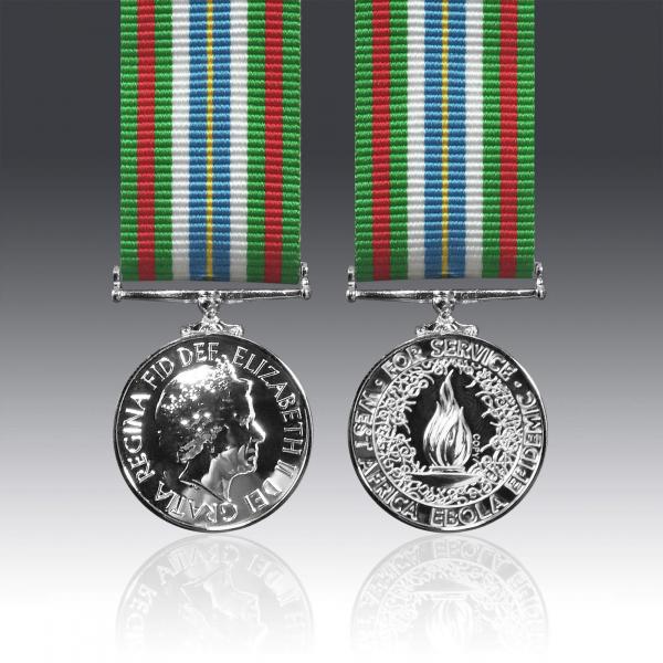 Ebola Medal Miniature Loose