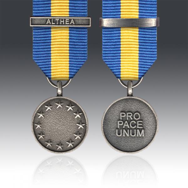 Miniature ESDP Operation Althea Medal