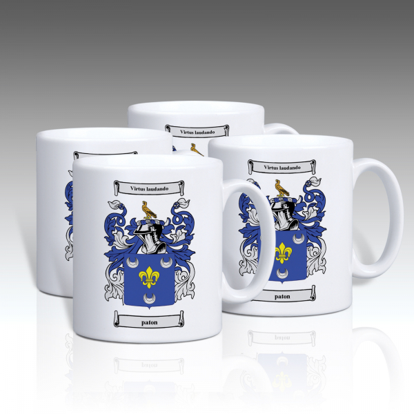 Set Of 6 Personalised Mugs