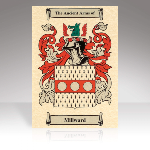 Family Crest Scroll Print