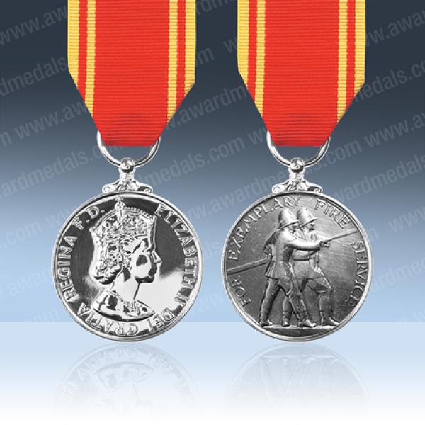 Fire Brigade Long Service Medal EIIR