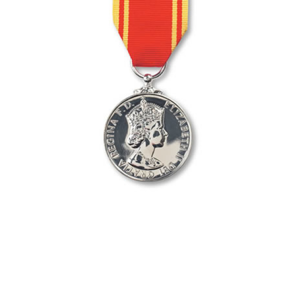 Fire Brigade Long Service Miniature Medal