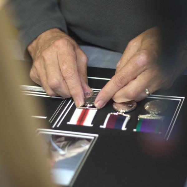 Bespoke Medal Framing Service