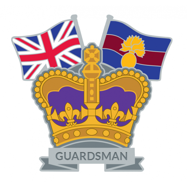 Grenadier Guards Crown & Country Lapel Badge
