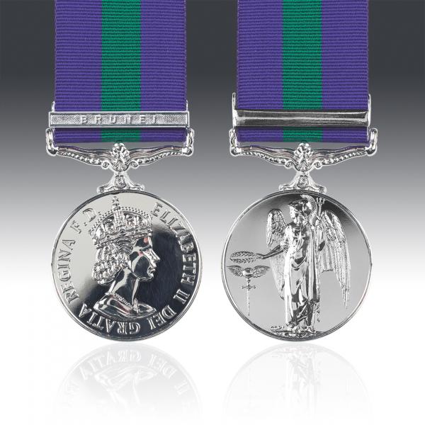 General Service Medal 1918-62 E.II.R & Brunei Clasp