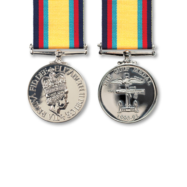 Gulf Miniature Medal