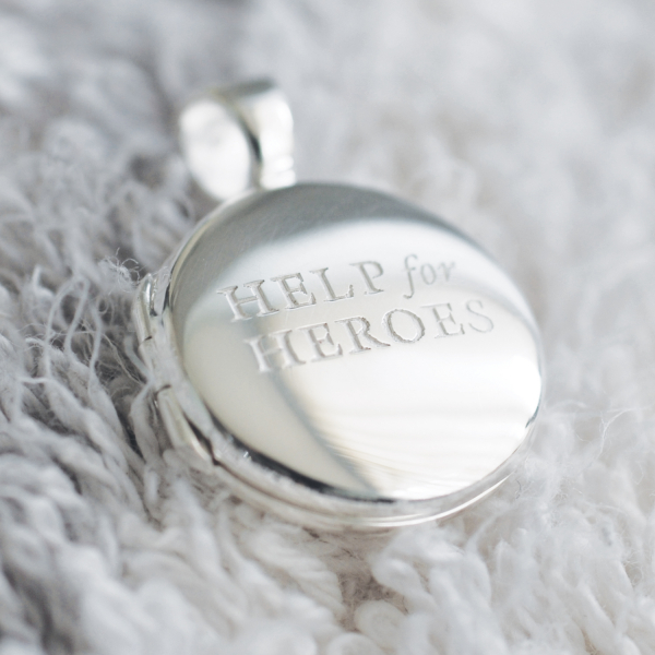Help For Heroes Locket