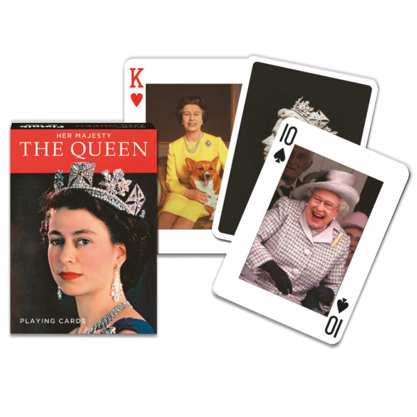 Her Majesty The Queen Playing Cards