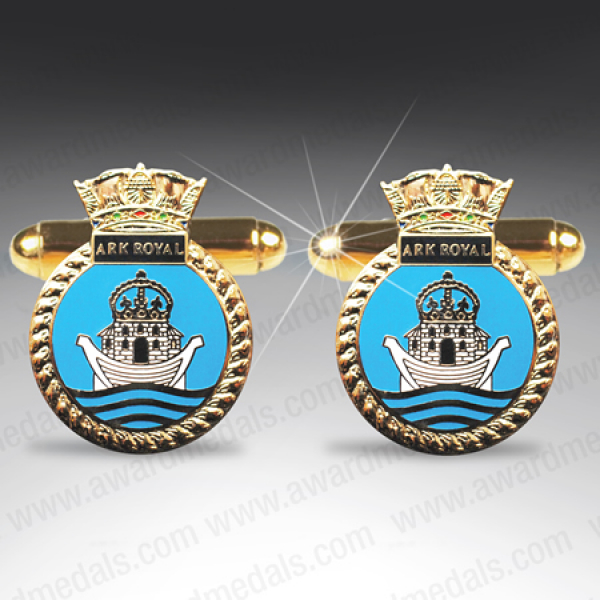 HMS Ark Royal Cufflinks