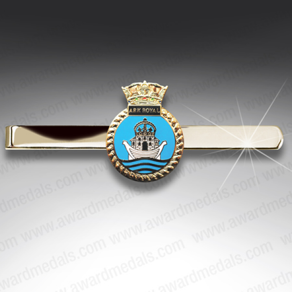 HMS Ark Royal Tie Slide