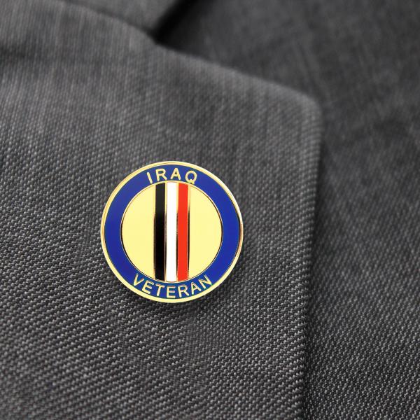 Iraq Veterans Lapel Badge