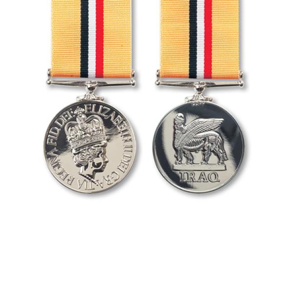 Iraq Operation Telic Miniature Medal