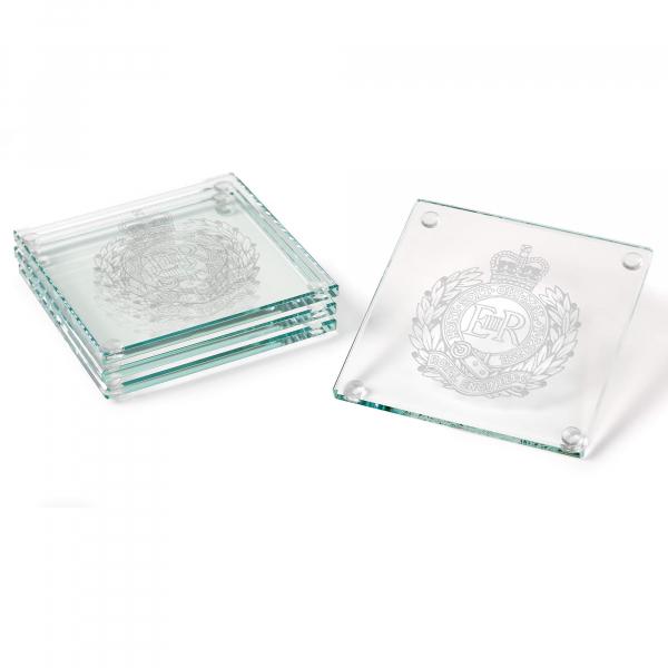 Jade Glass Coasters