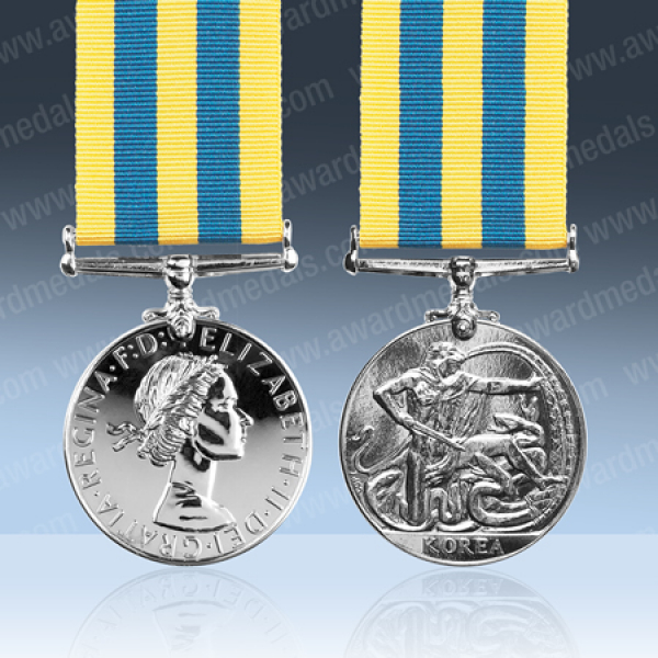 Queens Korea Medal