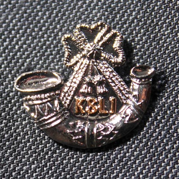 KINGS SHROPSHIRE LIGHT INFANTRY Lapel Badge