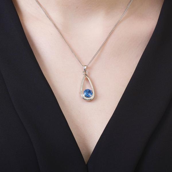 Majestic Sapphire Pendant