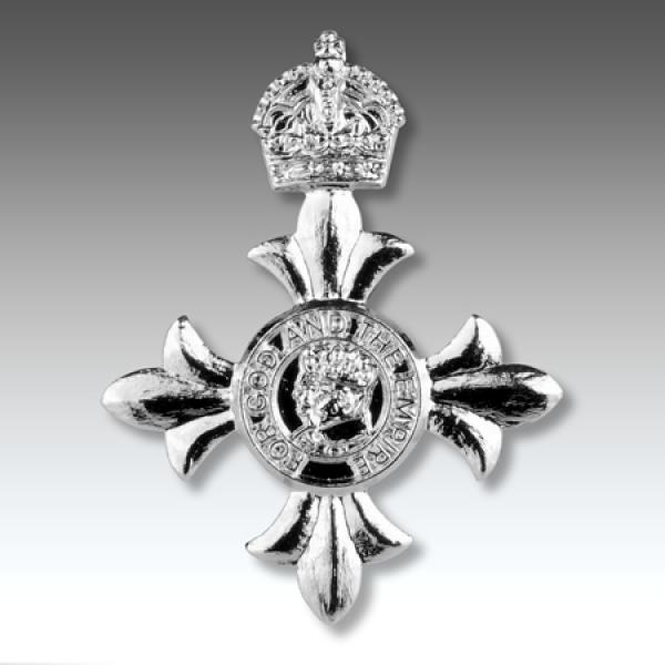 MBE Lapel Badge