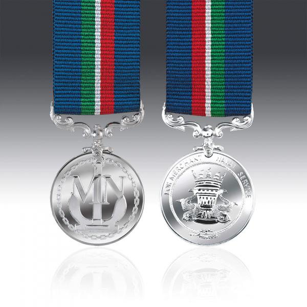Merchant Navy Service Miniature Medal