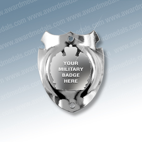 Military Walking Stick Badge