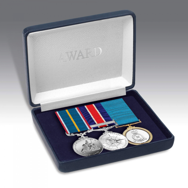Personalised Miniature Medal Storage Case for 2-3 Medals or Bow