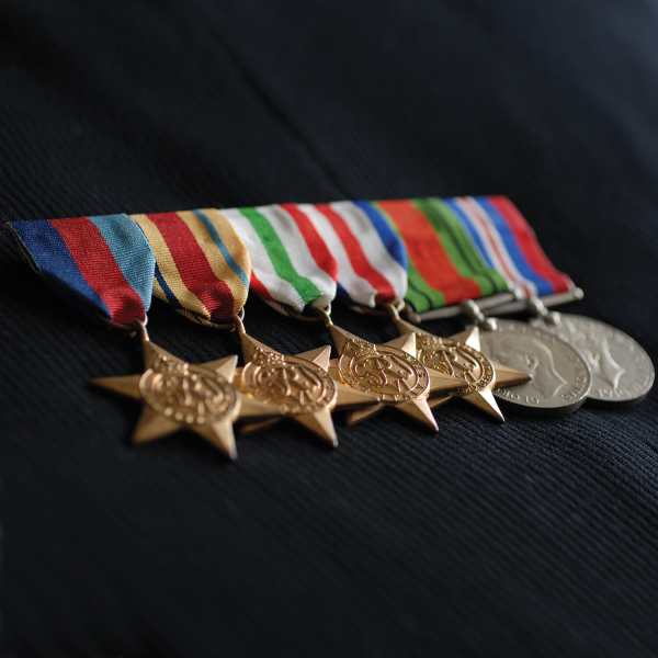 Swing Medal Mounting Full Size 9
